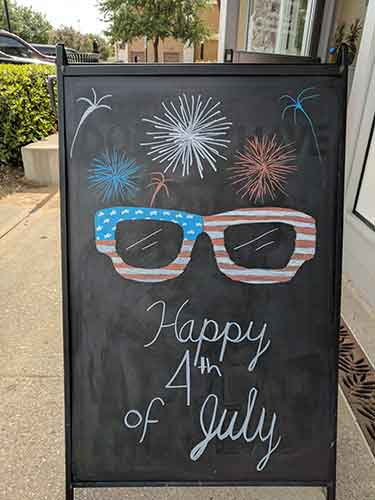 Happy July 4th from Eye Doctor in Allen, TX